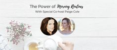 The Power of Morning Routines - Anne Samoilov Evening Routine, How To Make Coffee, Start The Day, Singles Day, Shake, How Are You Feeling, Place Card Holders, Journal, Blog