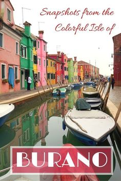 Guide and tips for visiting Burano with kids on a day trip from Venice | One day itinerary to Burano | Italy with kids