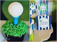 Tommy's Golf & Swim Birthday Party!