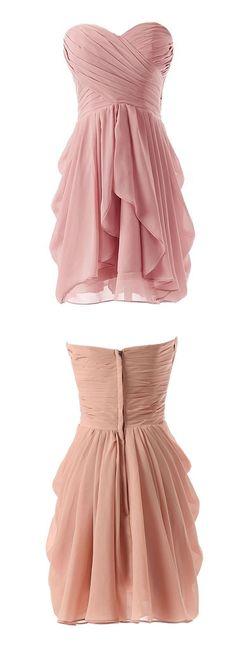 blush pink bridesmaid dress, short bridesmaid dress, cheap bridesmaid dress under 100, wedding party dress