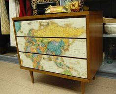 DIY commode map