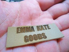 Custom Clothing Labels Leather Labels Knitting Labels