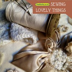 Sewing lovely things is easy when you have The Works on your side. Click here for bargain sewing supplies!