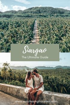 Siargao – our favorite Island in the whole Philippines. In this ultimate guide, we share with you the best things you can do on Siargao Island, including the best beaches, where to stay and eat as well as best island hopping tours. #philippines #siargao #siargaoisland #palmtrees #maasinriver #pacificobeach #cloud9