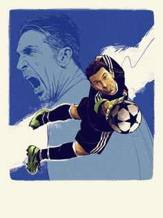 Football Icon, Football Gif, Football Boys, World Football, Juventus Soccer, Football Images, Football Pictures, Sports Art, Goalkeeper