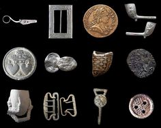 Some little treasures that have been found in the River Thames