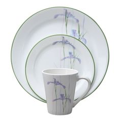 Corelle Impressions 16-Piece Dinnerware Set Camellia by Corelle ...