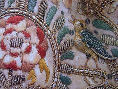 Embroidery detail - stunning!