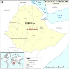 Where is Addis Ababa