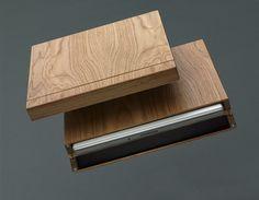 MacBook wooden case
