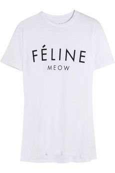Brian Lichtenberg Féline cotton T-shirt
