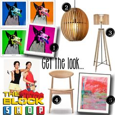 Get Alisa and Lysandra's look...The Block Sky High | Week 6 Living and Dining room