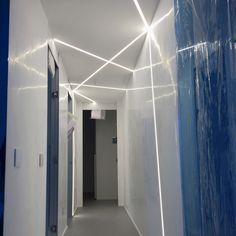 GYPS Light Range Indoor lighting to be installed in false ceilings, walls and plasterboard veils