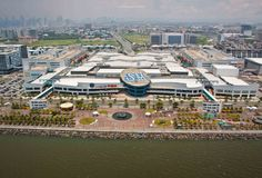 SM Mall of Asia - largest shopping mall in the world (numbers 1 & 2 are both in China). And still growing. Sm Mall Of Asia, Bay City, Manila, Shopping Mall, Big Ben, Philippines, Urban, Mansions, House Styles