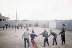 Red Rover, Red Rover send _____ right over! This was a standard school playground game at my school.