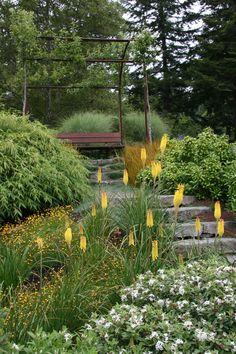 Mosaic Gardens #Hillside Landscaping