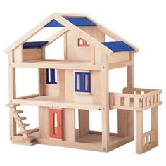 Plan Toys Terrace Dollhouse inch 21.7 x 17.3 x 24.2
