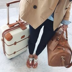 Delsey Chatelet Hardside Spinner Luggage And great travel look with tan  leather satchel and casually nice jeans and jacket. 2b631e43115fe