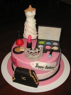 Fashion Birthday Cakes   Let Them Eat Cake: February 2012