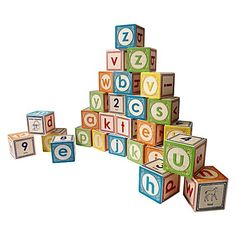 Lowercase ABC Blocks by Uncle Goose