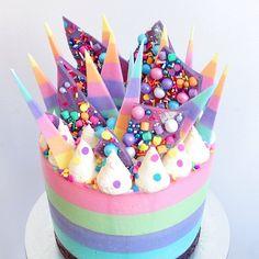 unicorn cheesecake...made by the AMAZING!  @Katherine_sabbath