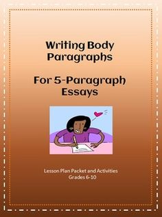 write 5 paragraph essay lesson plans A five-paragraph essay introduction paragraph lesson plan will teach students how to craft this paragraph which must introduce the entire essay, catch the reader's attention, and make him want to keep reading when teaching how to write an introduction paragraph, teachers will show examples of their own work or previous students' on an overhead.