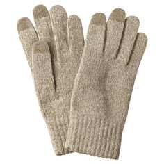Touchscreen Gloves - Beige