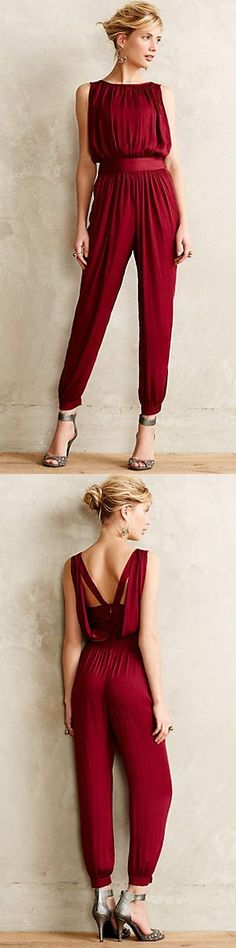 Adore the back of this! Draped Garnet Jumper   Anthropologie