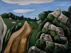 Marsden Hartley (1877-1943), Summer Outward Bound, Dogtown 1931    I swam and hung out here as a teenager in Rockport Massachusetts