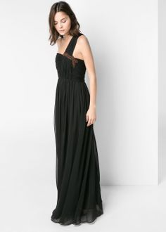 Asymmetric long dress #MNG