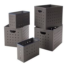 IKEA PS 2017 Box, set of 5 IKEA Easy to pull out and lift as the box is sturdy and has cut-out handles.