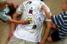 fars dag pyssel inspiration tips ide t-shirt eget tryck pyssla tröja present