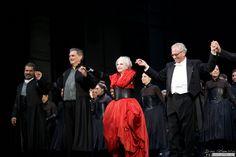Roberto Devereux, Teatro Real Madrid, 04.10.2015 La grande Mariella Devia Travel Around The World, Around The Worlds, Real Madrid, Grande, Opera House, Photography, Beautiful, Fashion, Theater
