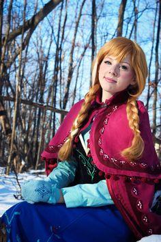 Anna #cosplay (from Frozen) by Courtoon.deviantart.com