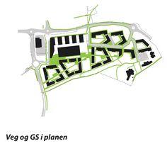 Lura Bydelssenter Områdeplan (2010) – ARC arkitekter