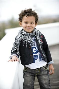 hope my son dresses this cool when he gets older