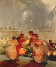 Gaston de La Touche (French, 1854-1913) - The Joyous Festival, c. 1906