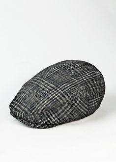 Wool-blend Flat Cap. H.E. by Mango. Sombreros Hombre 672c71a93a2