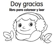 Spanish Thanksgiving printables: minibook for kids from Monarca Language, with ideas for Spanish activities.