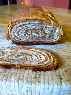 Slovenian Roots Quest: Potica: A Step-by-Step Guide to Slovenian Nut Roll Slovak Recipes, Ukrainian Recipes, Czech Recipes, Croatian Bread Recipe, Hungarian Nut Roll Recipe, Holiday Baking, Christmas Baking, Just Desserts, Dessert Recipes