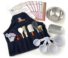 Love this chef set for kids! Great Gift idea!