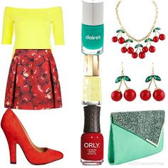 Cherry bomb | Women's Outfit | ASOS Fashion Finder