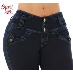 Basic Style, Wide Waistband for Better Comfort, Skinny Jean, With Simulated Pocket, High Elasticity Light Weight Fabric, Fits True to Size, 3 Buttons in Front and Zipper, Handmade