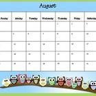 Stay organized this year with my Owl Themed Weekly Planner, Calendar, and Grade Book! This Planner is for the 2013-2014 school year.    Just print, p...