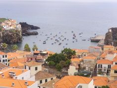 Madeira - Blick auf Fischerboote
