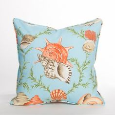Sumba Pillow / Sky - Biscayne Collection | Beach Pillow | Coastal Pillow