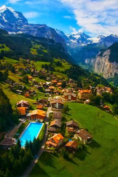 Mountain Village - Wengen, Switzerland Require a quite place to stay in Zurich Switzerland ? http://www.imsonnenbuehl.com/en/ Look up our Guest-House and apartment.