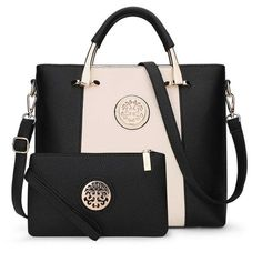 Bags Set European And American Style Women Composite Leather Bag And Purse cba4c8b1f3