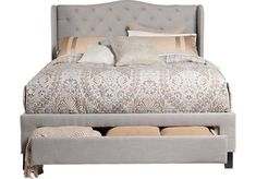 Shop for a Cali Gray 3 Pc King Storage Bed at Rooms To Go. Find King Beds that will look great in your home and complement the rest of your furniture.