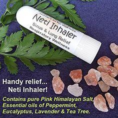 Original Himalayan Salt Air Respiratory Inhaler Natural